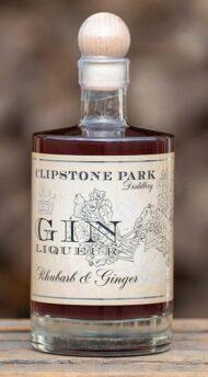 Rhubarb & Ginger Gin Liqueur